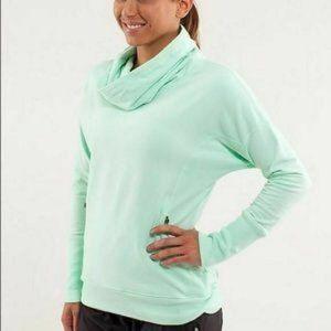 Lululemon Rest Day Pullover- Mint Green